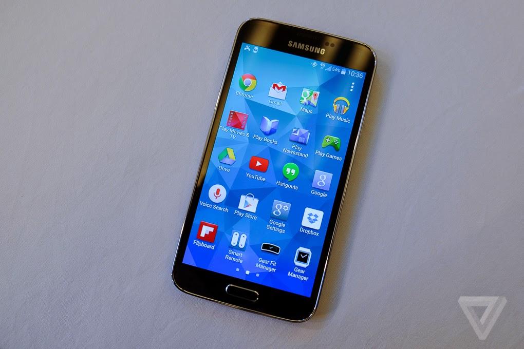 nouveau smartphone Samsung Galaxy S5