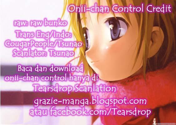 Manga Oniichan Control 11 page 1
