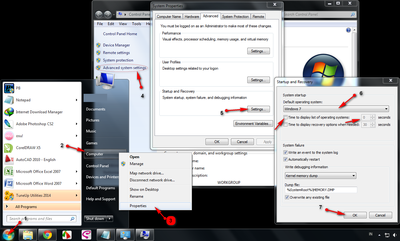how to delete earlier version of windows