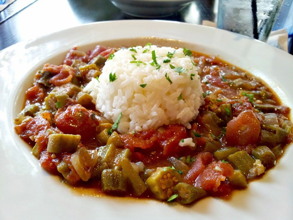 Hines-Sight Blog: Southern Chat: Stewed Okra and Tomatoes at The ...