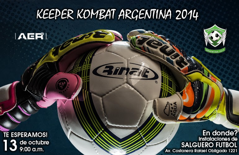 rinat, keeper kombat, keeper kombat argentina, como inscribirme, donde es el keeper kombat