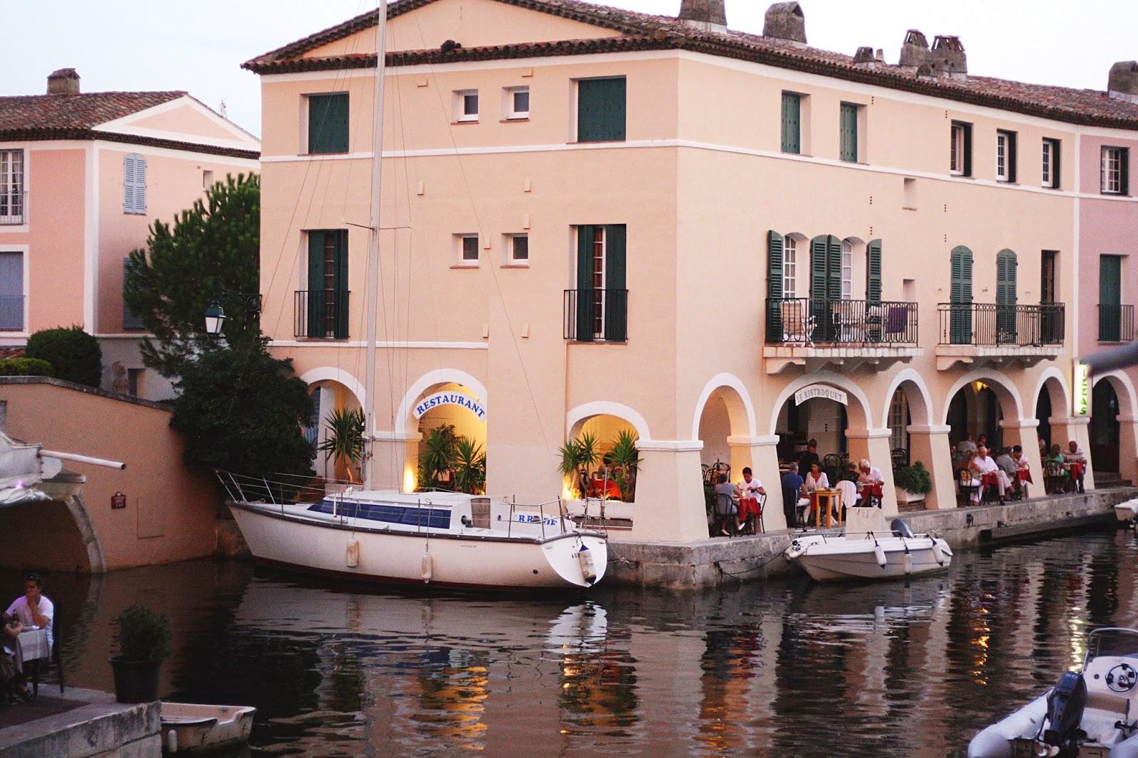 restaurant bateaux canaux