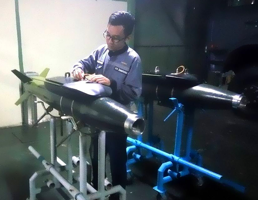 JDAM (Joint Direct Attack Munition) buatan PT Pindad
