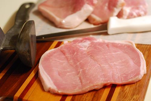 butterflied boneless pork chop