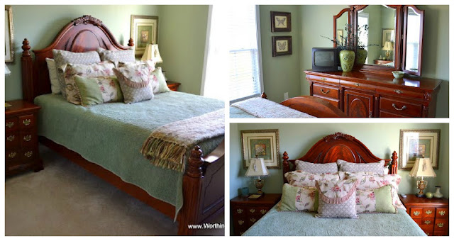 guest+room+collage Traditional style home tour in Central NC!