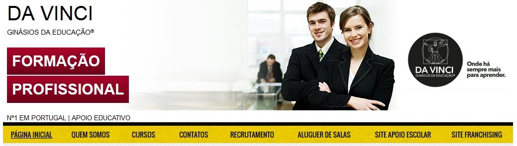 Site Formação Profissional