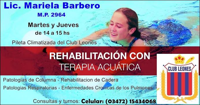 ESPACIO PUBLICITARIO: LIC. MARIELA BARBERO