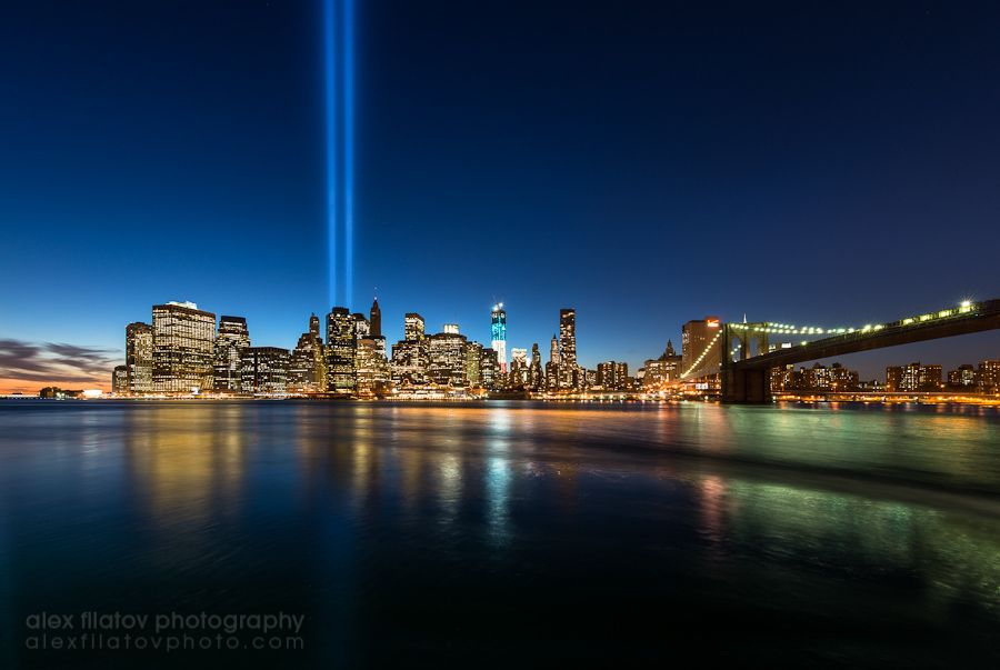 4. The Tribute in Light by Alex Filatov