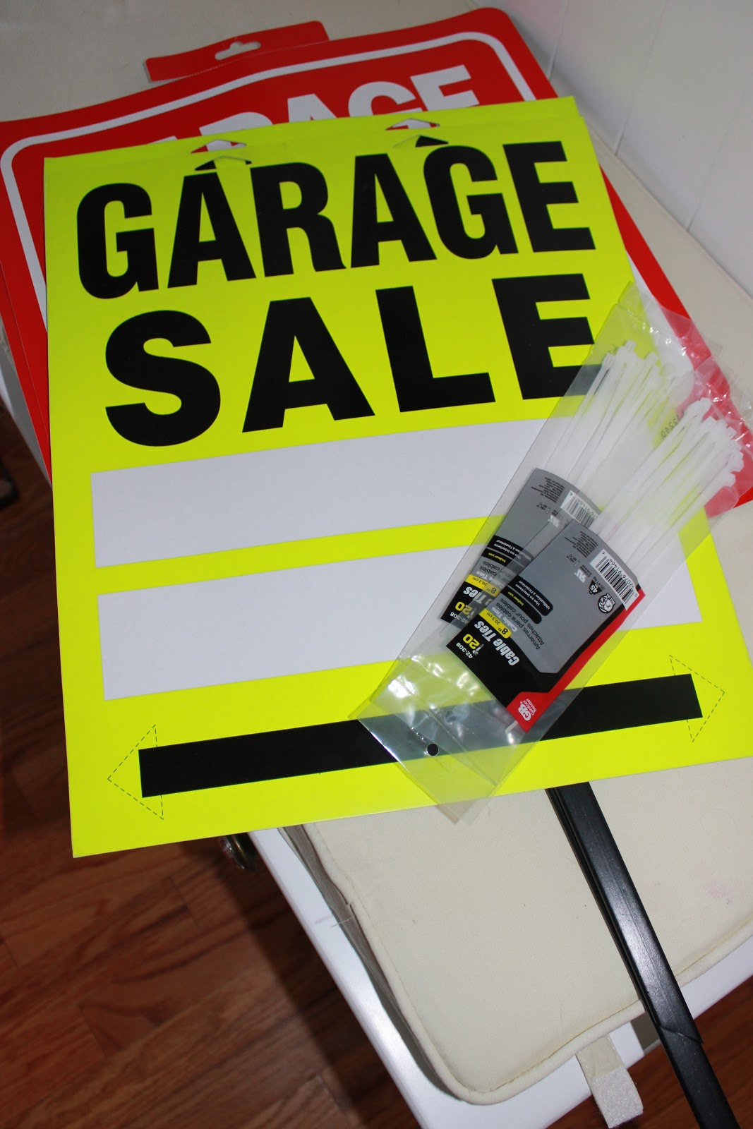 Achieving creative order: garage sale prep {the night before/day ...