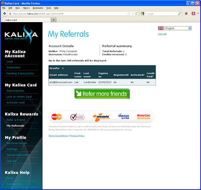 Status of Kalixa referrals