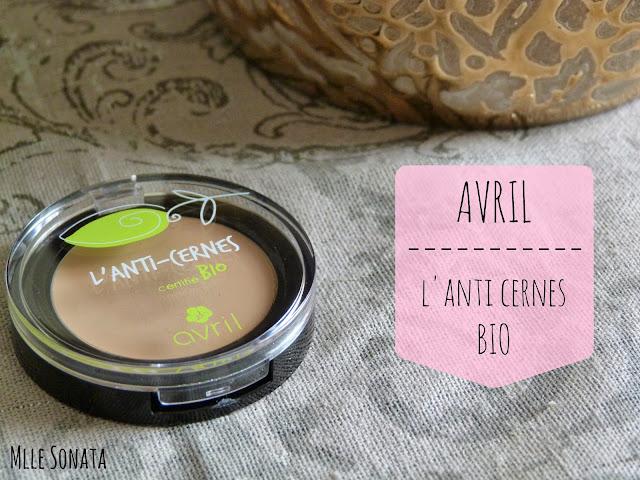 Test Anti cernes Avril Bio