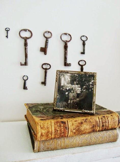 Nycklar på väggen