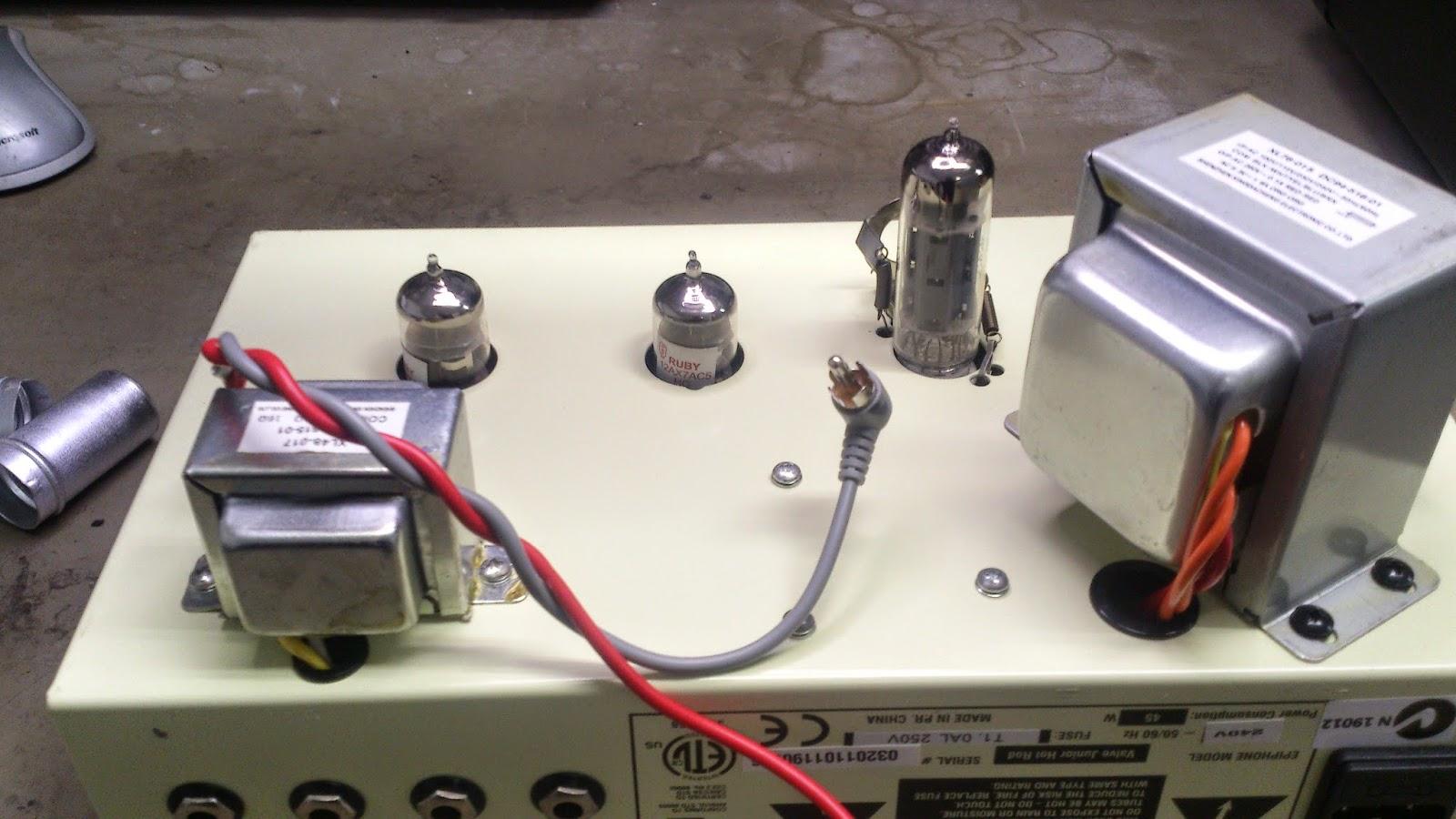 Epiphone Valve Junior Schematic Head Manual Comet Guitar Amplifier Levy Sound Design Jr Hot Rod Modification Pdf Remove Four
