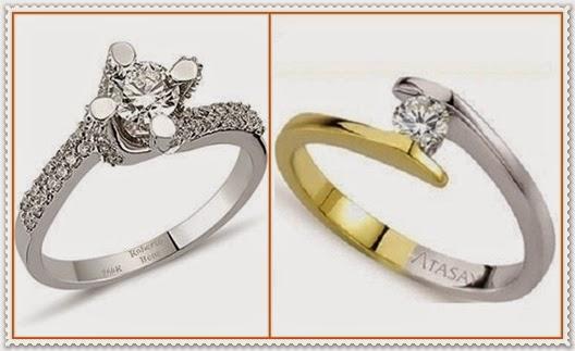 Für Valentinstag 2015 Solitär Ring
