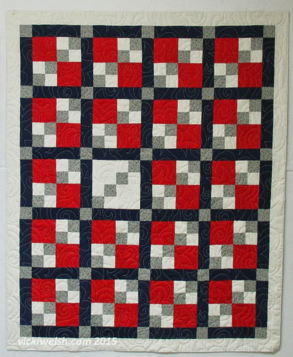 Country School Quilters: Veteran s Quilts 9 & 10