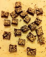 Hazelnut Truffle Squares Gluten Free Recipe