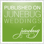 We Have been featured on Junebug Weddings