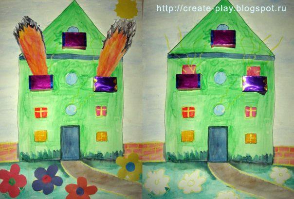 """fairy tale """"Cat House"""""""
