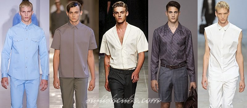 Spring Summer 2014 Men's Shirts Fashion Trends