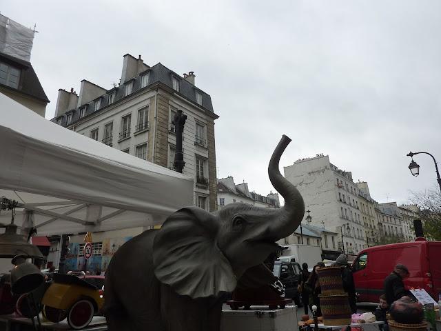 brocante rue de bretagne paris