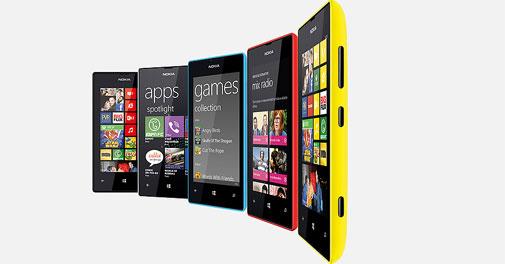 Nokia Lumia 520 pelbagai warna