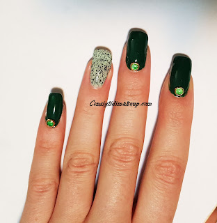 Nail art: Green Pepper