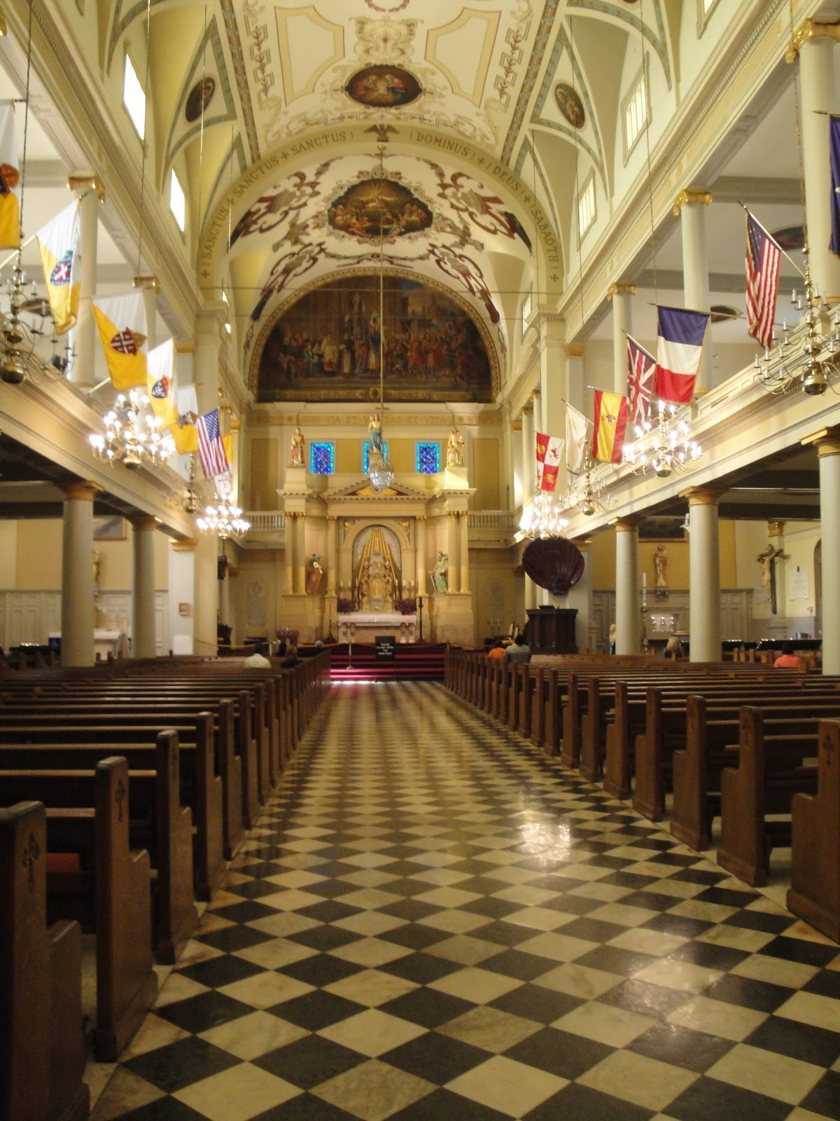 Interior of St. Louis Cathedral