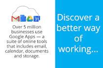 Únete a 5 millones de otras empresas que utilizan Google Apps for Work