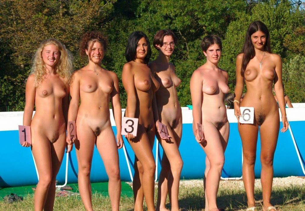 With you Nude black beauty pageant with you