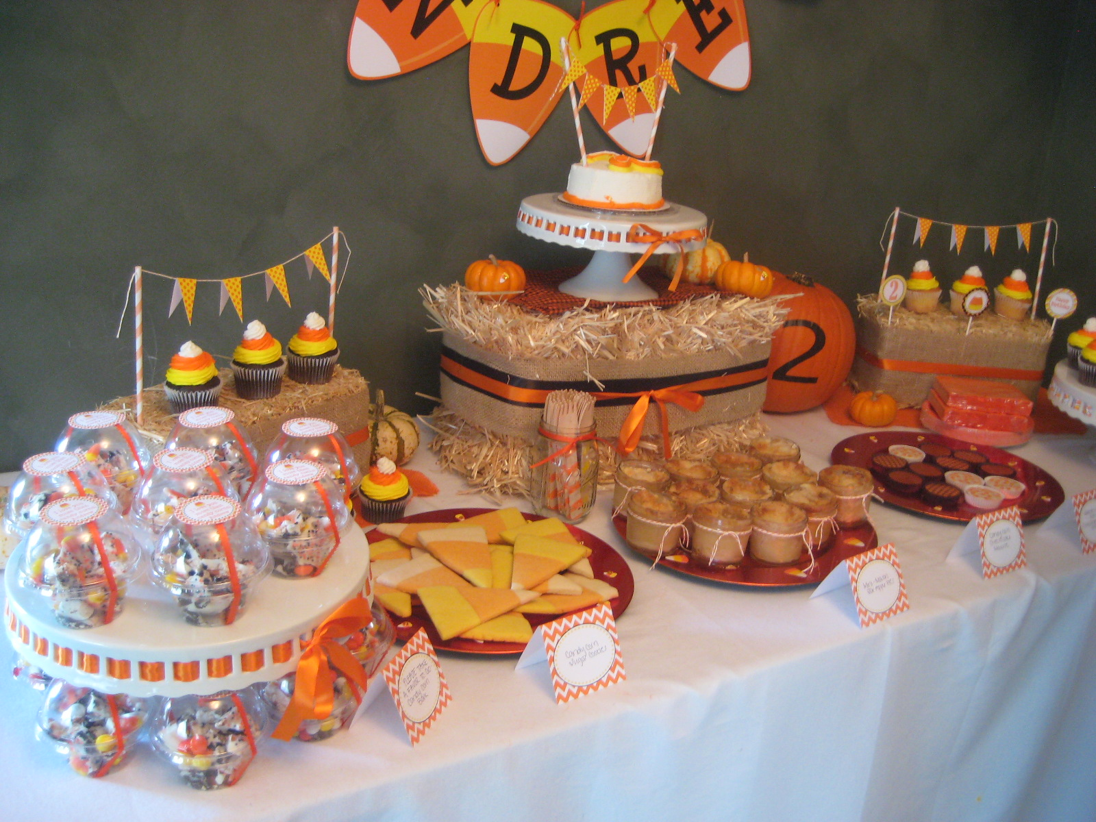 candy corn birthday party the cards we drew. Black Bedroom Furniture Sets. Home Design Ideas