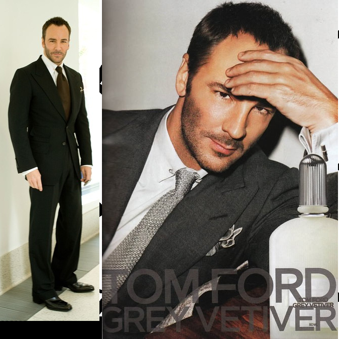 Fashion designer, Tom Ford