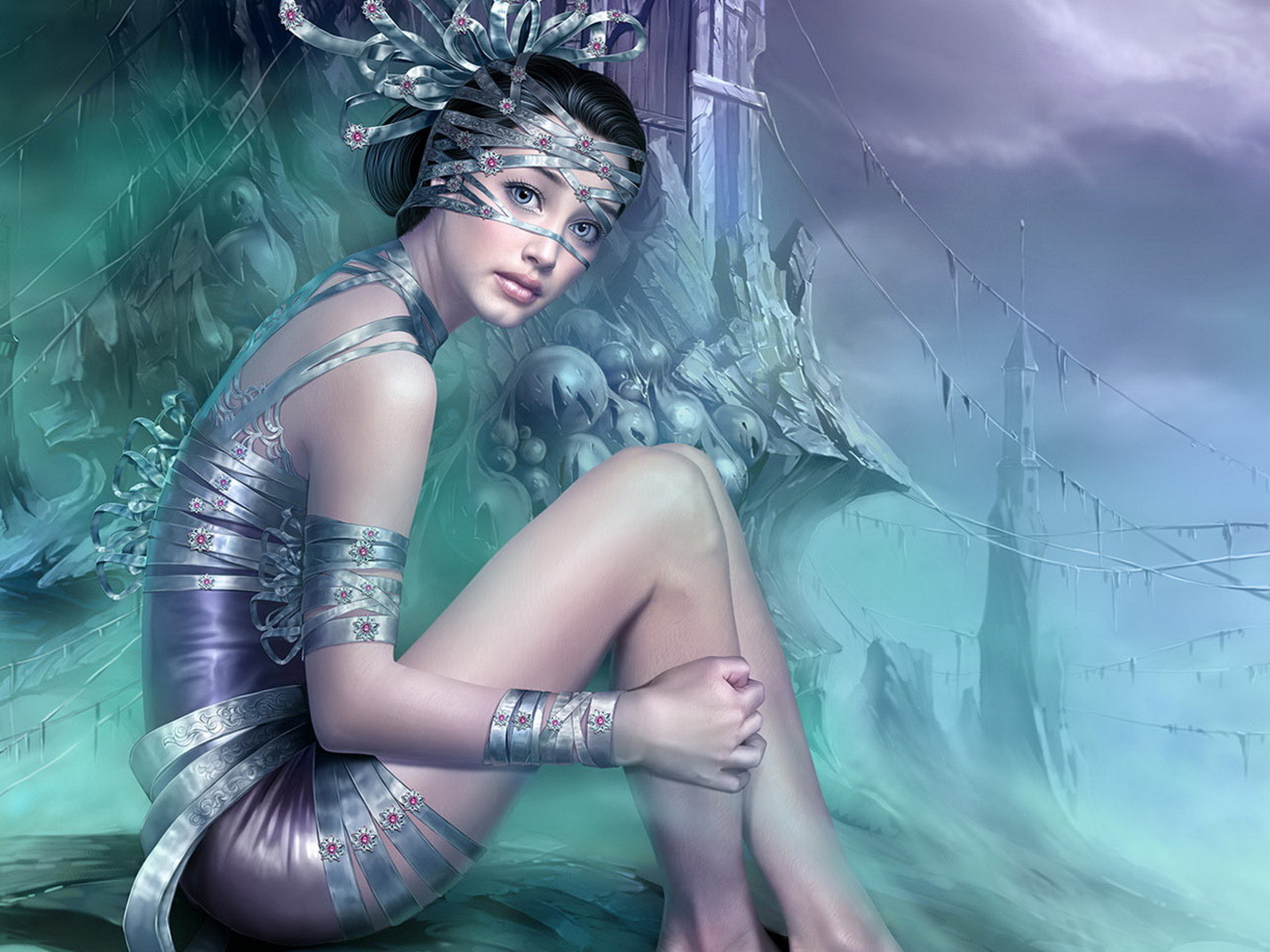 wallpapers fantasia mujeres
