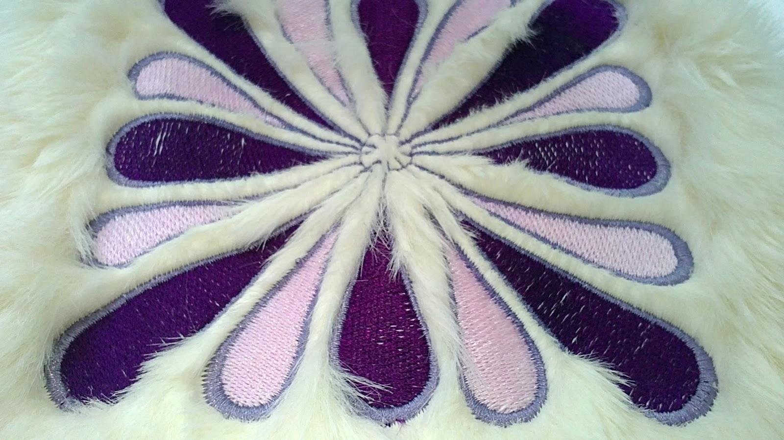 Вышивка на очень тонкой ткани