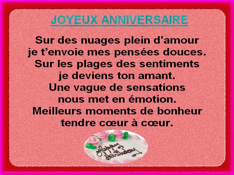 texto anniversaire belle mere