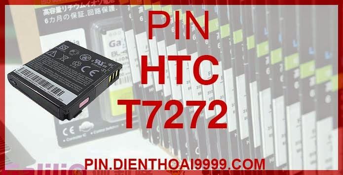 Pin HTC-T7272 - Pin Galilio HTC T7272 dung lượng cao 1800mah - Giá 200k - Bảo hành: 6 tháng  - Pin tương thích với điện thoại HTC 6850/ Pin HTC XV6950/ Pin HTC VX6950 / Pin HTC Touch Pro/ Pin HTC VX6850/ S900C/ T7272/ T7278 Thông số kĩ thuật: - Pin điện thoại HTC-T7272 1800 mAh được thiết kế kiểu dáng và kích thước y như pin nguyên bản theo máy, Pin tiêu chuẩn, chất lượng như pin theo máy. - Kích thước: 42.40 x 39.80 x 8.10mm - Dung lượng: 1800 mAh - Điện thế: 3.7V - Công nghệ: Pin Li-ion Battery  Mô tả sản phẩm: - Pin Galilio nhờ nghiên cứu và phát triển công nghệ lithium nên đã đạt được pin dung lượng cao nhất cho phép (từ 1,5- 2 lần) nhưng vẫn đảm bảo được chất lượng cao, đã vượt qua nhiều tiêu chuẩn chất lượng như ISO 9001, ISO 1400I, CERTIFICATED, hãng cũng ứng dụng Công Nghệ an toàn mà những hãng pin khác không có được: Controller IC, Control swithches, Temperature Fuse.. - Thiết kế kiểu dáng và kích thước y như pin nguyên bản theo máy, thuận tiện và dễ dàng thao tác, pin dung lượng cao cung cấp đủ nguồn điện cho máy sử dụng được trong thời gian dài, có thể mang đi bất cứ đâu để phòng khi pin của máy bạn hết mà không có điều kiện để sạc. - Cho phép bạn giữ các cuộc nói chuyện và bảo đảm cho bạn không bỏ lỡ các cuộc gọi điện thoại quan trọng - Pin sạc bằng cách gắn vào điện thoại và sạc như pin gốc - Sản phẩm đạt tiêu chuẩn tuyệt đối về an toàn cháy nổ - Bảo hành đổi pin mới trong 6 tháng.
