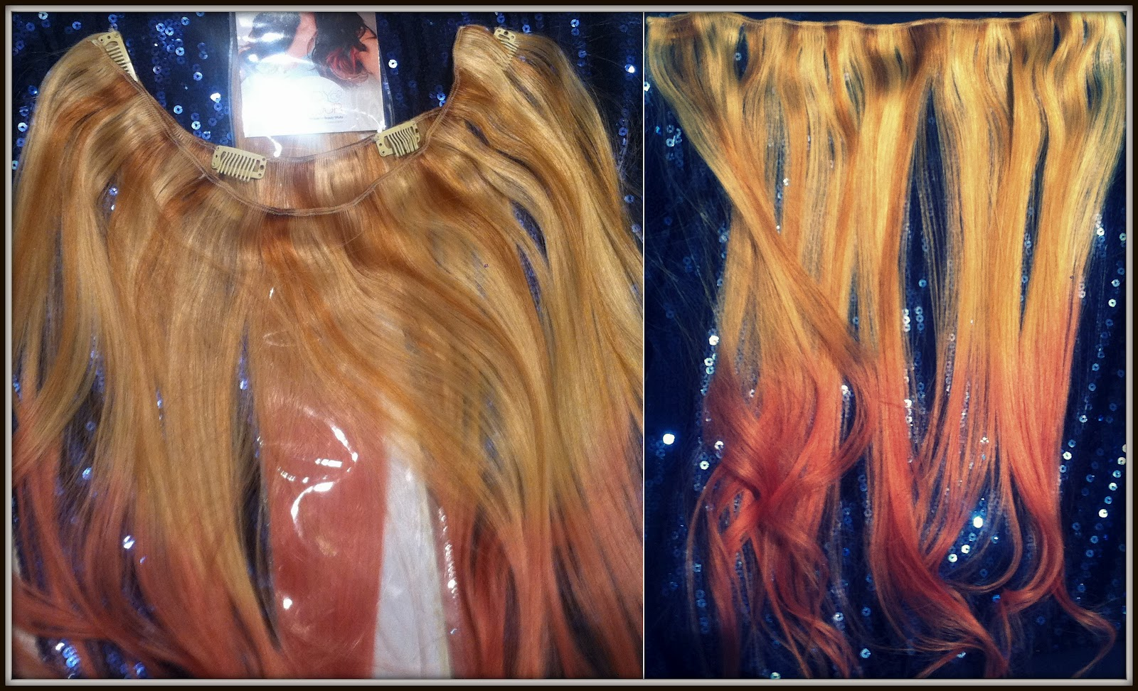 dip dye extensions from beauty works inspired by lauren