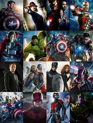 Marvel - Todos os Filmes Filmes Torrent Download completo