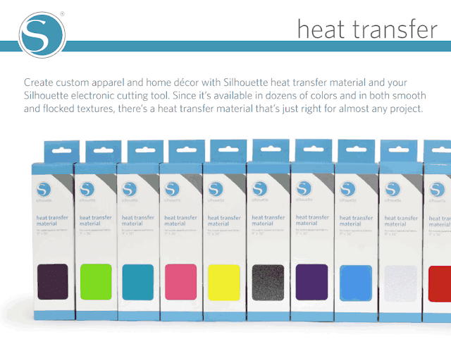 Silhouette Heat Transfer Material