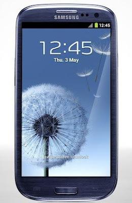 Immagini del display del nuovo Galaxy S 3