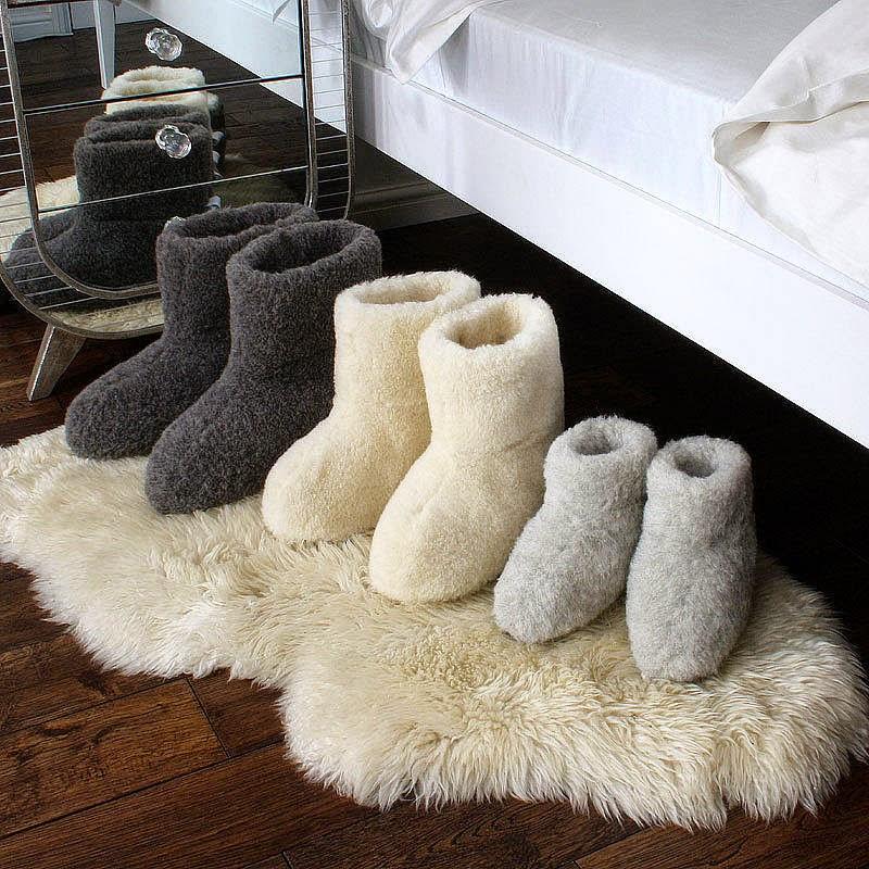 sepatu boot bahan wol