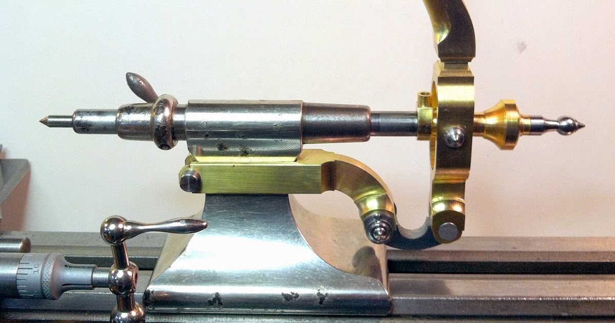 Watchmakers Lathe Tailstock lever