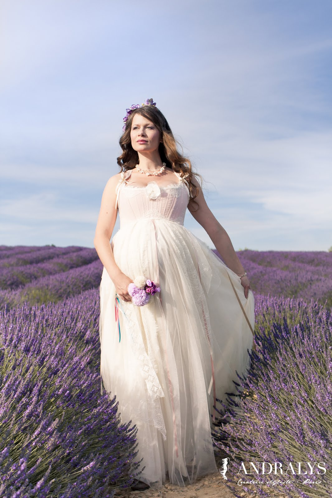 Robe de mariée grossesse Antoinette