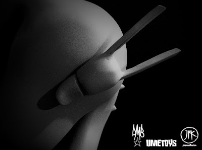 Teaser Image 3 Jon Paul Kaiser x UME Toys x David Bishop &#8220;X&#8221; Resin Figure Prototype