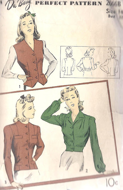 1940s Windbreaker/Bomber Jacket Pattern