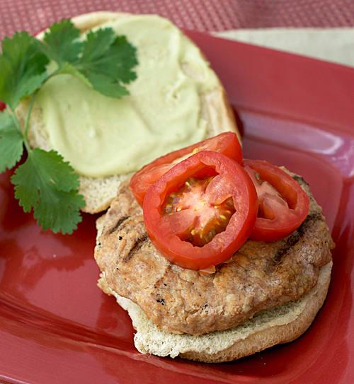 chicken chorizo burgers