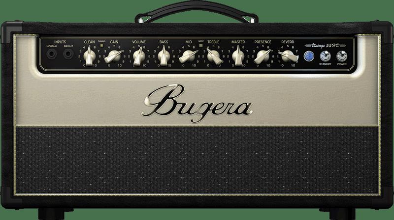 Amplificador valvulado para guitarra bugera v55hd na central do rock