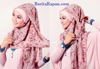 Tutorial Dan Cara Memakai Hijab Segi Empat Dengan Simple