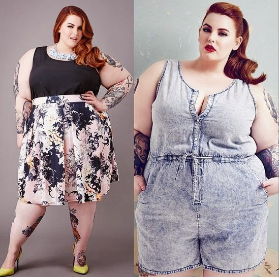 Tess Holliday, plus size pin-up model