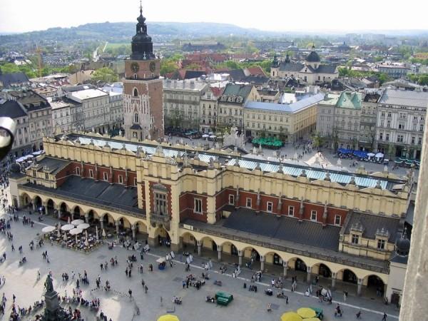 Panorámica de Cracovia