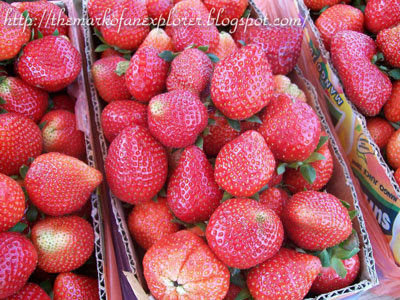 strawberry in baguio city